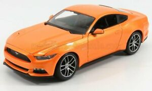 MAISTO 1/18 FORD USA | MUSTANG COUPE 5.0 GT 2015 | ORANGE MET