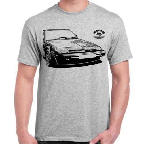 X1//9 T-Shirt Wunschtext auf Kennzeichen möglich Oldtimer Geburtstag Geschenk