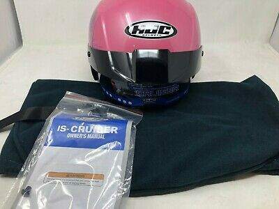 New HJC IS-Cruiser Blush Women/'s Motorcycle Helmet