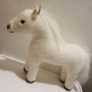 Gotz Pottery Barn Kids Plush Horse White Stuffed Pony Pbk