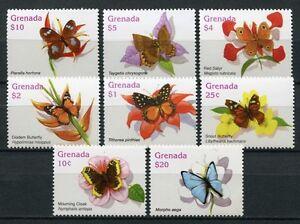 Grenade 2006 Papillons Butterflies Petits 5789-96 Tamponné Neuf Sans Charnière-afficher Le Titre D'origine AgréAble En ArrièRe-GoûT