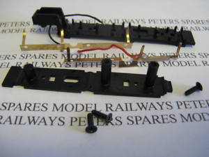 Details about Hornby X6459 Railroad D49 Hunt Class 4-4-0 Tender Chassis  Bottom & Pickups