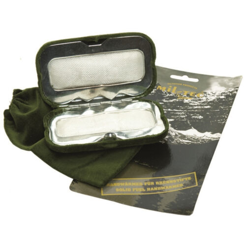 Details about  /Solid Fuel Operated Reusable Camping Hiking Military Work Army Hot Hand Warmer