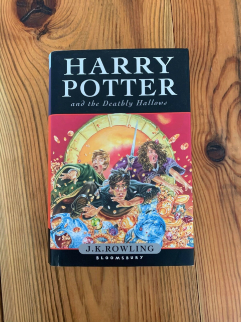 Harry potter and the deathly hallows, J.K. Rowling, genre:…