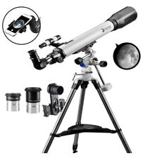 Telescope 70EQ Refractor Telescope Scope 70mm Aperture and 700mm Focal Length