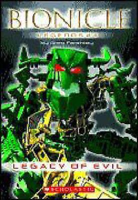 (Good)-Legacy of Evil (Bionicle Legends) (Paperback)-Farshtey, Greg-0439828074