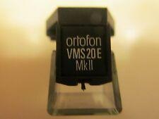 ORTOFON VMS 20E MKII CARTRIDGE AND GENUINE ORTOFON D20E MKII STYLUS (EXCELLENT)