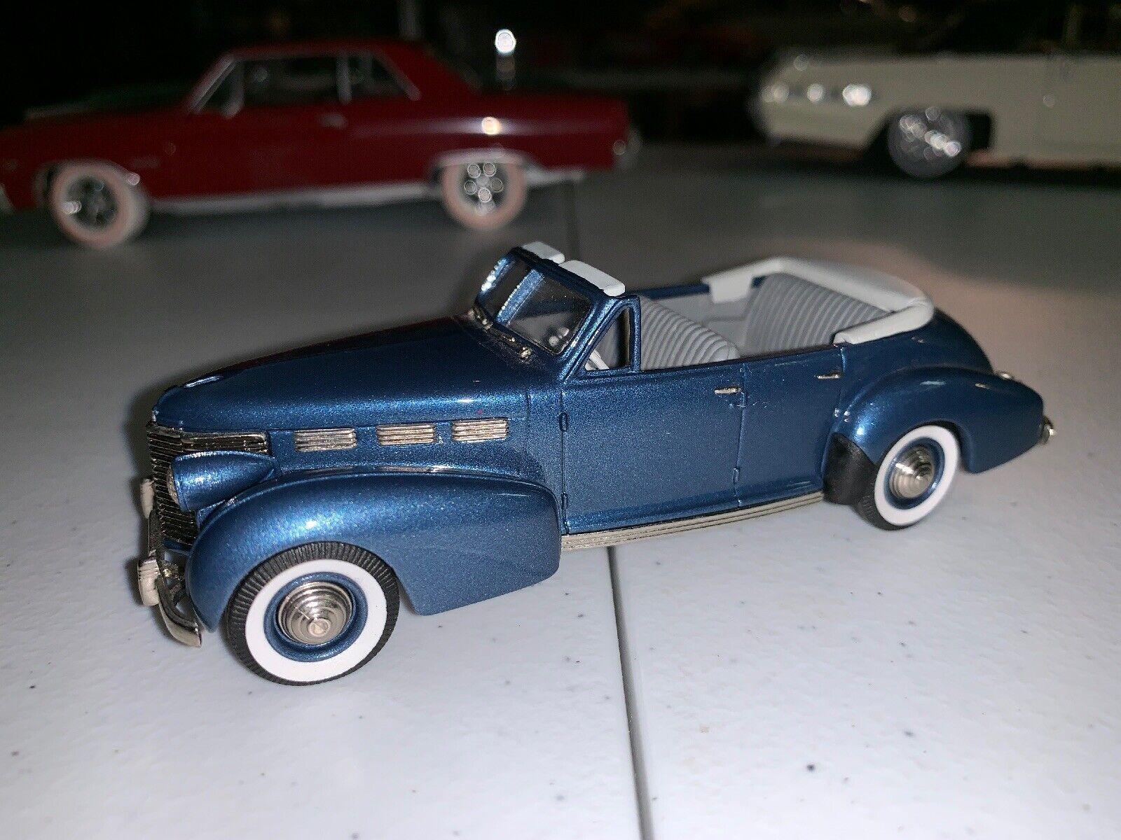 Brooklin Brooklin Brooklin Models 1 43 Scale FS05 - 1938 Cadillac Sixty Special  - Metallic bluee  2cf