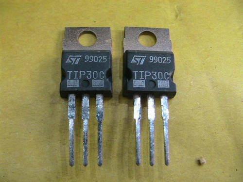 TRANSISTOR TIP30C PNP-NF-80V 2A 30W    2x   12331