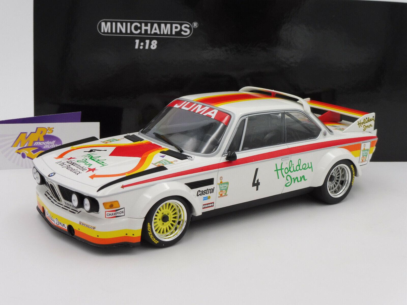 entrega rápida Minichamps 155762504     bmw 3.0 CSL No. gp nurburgring 1977  Juma Tuning  1 18  promociones de descuento