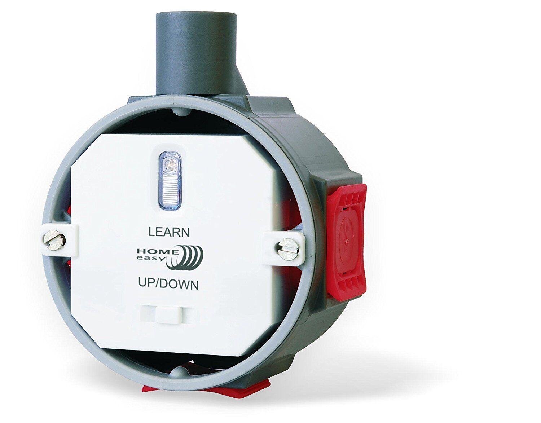 Home Easy HE889 Funk-Einbauschalter für Rolläden (auf und ab) bis 400 Watt  | Charakteristisch