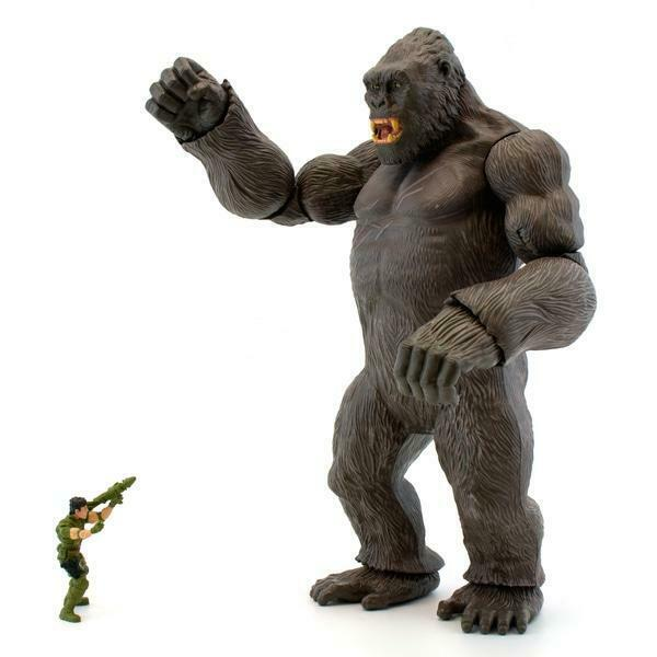 NEW King Kong The Movie 18  Action Figure Lanard Toy