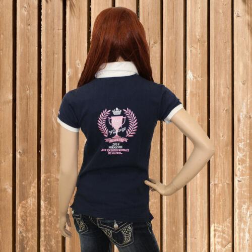 Short Sleeve T-Shirt Equi Theme Polo Shirt Navy-  show original title Details about  /Equi Théme Womens Shirt