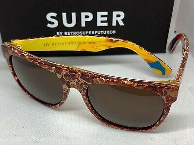 RetroSuperFuture Flat Top Motorpsycho Frame Sunglasses SUPER SUA NIB