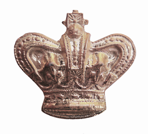 St Edward's Crown Nickel-Plated Symbol For Orange Order Collarette