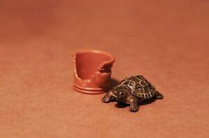Dollhouse-Miniature-Fairy-Garden-Pet-Reptile-Turtle-Tortoise-3cm