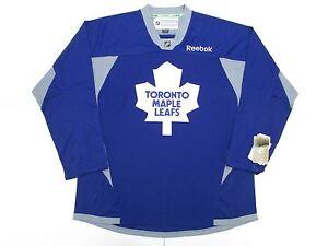 132226b5 ... switzerland image is loading toronto maple leafs blue reebok practice  hockey jersey 2add4 a2c2d