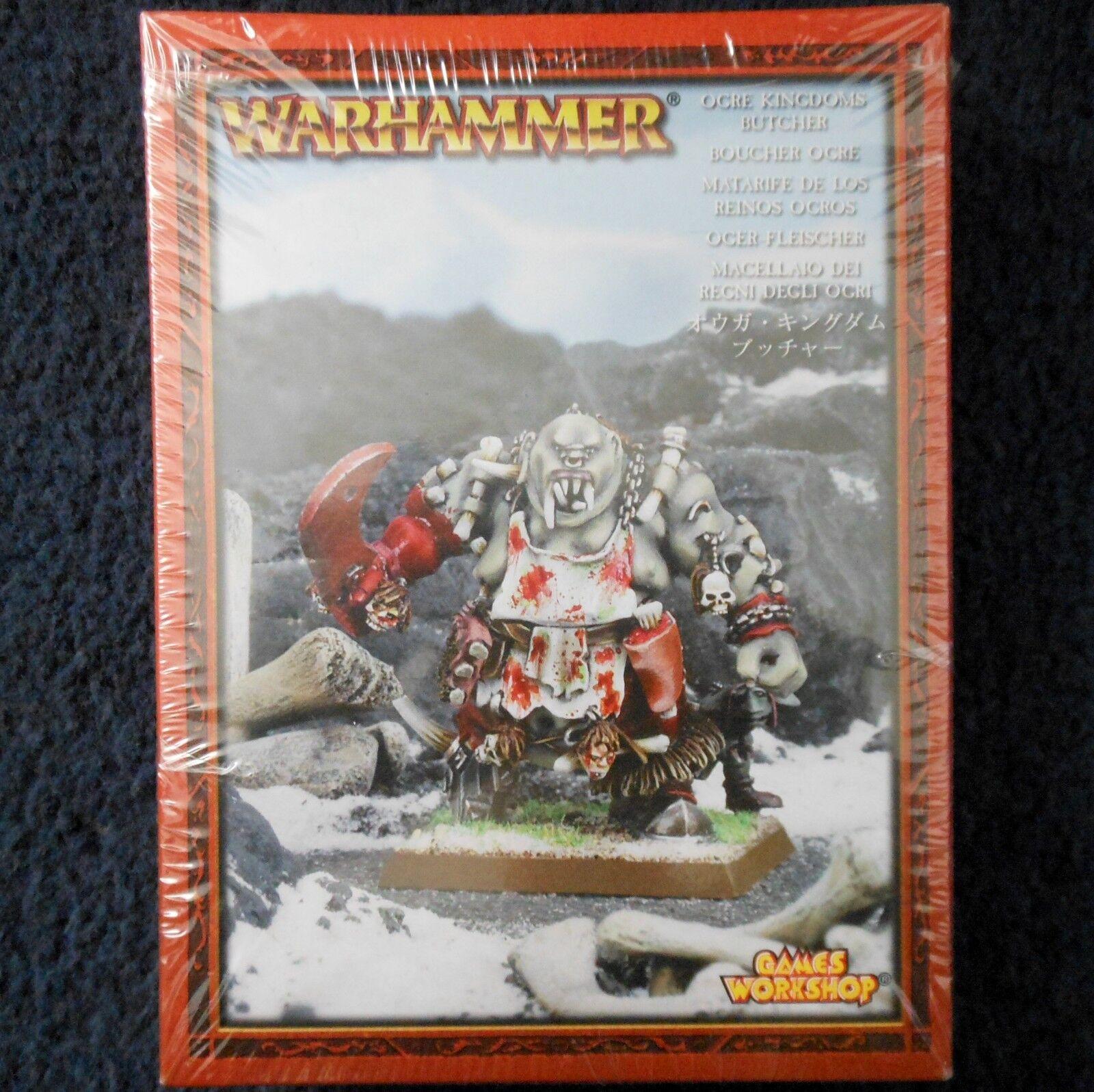 2005 Ogre Butcher Slaughter Master Warhammer Army Kingdoms Citadel Ogor Cook MIB