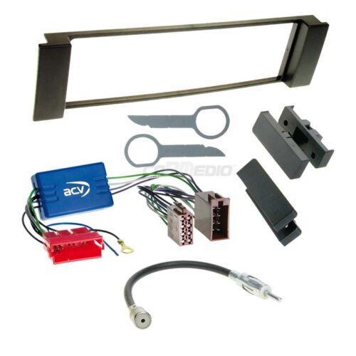 Seat Leon 1m 99-06 1-din radio del coche Kit de integracion adaptador cable radio diafragma