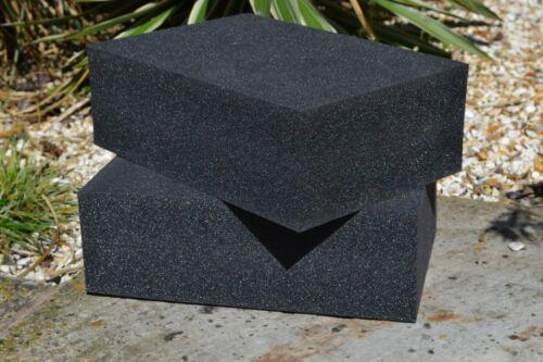 kayak closed cell high density foam block 300mm x 250mm x 50mm TWO x craft