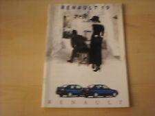 50668) Renault R 19 Phase II inkl. 16V 135PS Prospekt 05/1994
