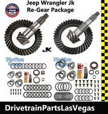 Jeep Wrangler JK Dana 44 + 30 Jeep Ring and Pinion Gear Set Pkg Master Kit 4.56
