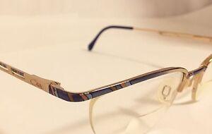 60be764e96 CAZAL Eyeglasses Eyeglass Frames Half Rimmed 51-18-135 Multi Colored ...