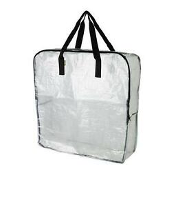 IKEA-DIMPA-LARGE-TRANSPARENT-STORAGE-BAG-WITH-ZIP-Buy-More-amp-Save