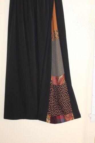 Zwarte sz Funky L Wearable Art Gretzinger Staley rok M patchwork volledige Rayon ZI5wqHcC