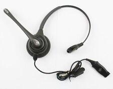 Plantronics H251N SupraPlus Monaural Noise Canceling QD Headset for M12 M22 MX10