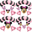 Disney-Minnie-Mouse-Birthday-Balloons-Foil-Latex-Party-Decorations-Gender-Reveal thumbnail 1
