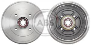 2 x ABS 2775SC Bremstrommel