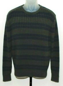 St John/'s Bay Long Sleeve Cotton Sweater Size L Light Blue Sweater