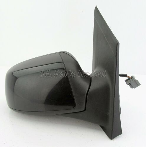Ford Focus-II MK2 2005-2007 Right Side Electric Heated Door Mirror Panther Black