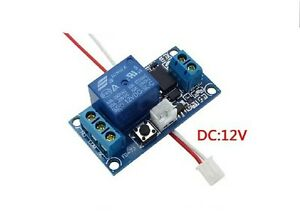 12v dc latching relay 12v wiring diagram and circuit schematic