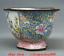 """miniature 6 - 6,2 """"Qianlong Marqué Vieux Chine Cloisonné Émail Fleur oiseaux Bol Pot Cruche"""