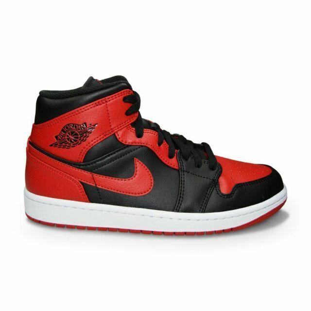 Size 9.5 - Air Jordan 1 Mid 'Banned' for sale online | eBay