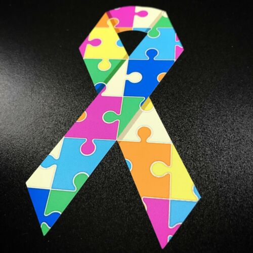 Sticker Autism Ribbon