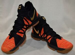 the latest 3e819 314ca Image is loading Nike-Zoom-KD-10-NFS-Uni-Red-Gold-
