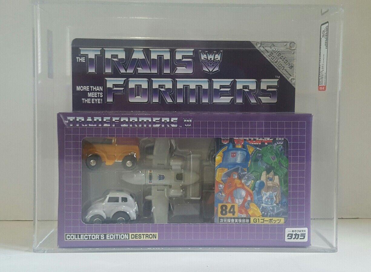 Takara Transformers D-84 Minibots Ehobby Exclusive AFA90 MISB MISB MISB 94e096