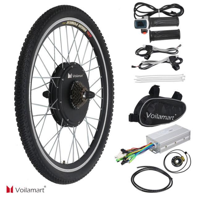 """48V 1000W Bicyclette Électrique Moteur Kit Conversion Cyclisme Vélo Moyeu 26 """""""