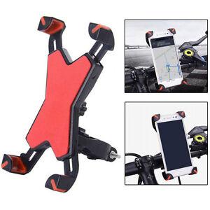 Moto-Bicicleta-MTB-Manillar-De-La-soporte-para-Telefono-Celular-GPS-Universal