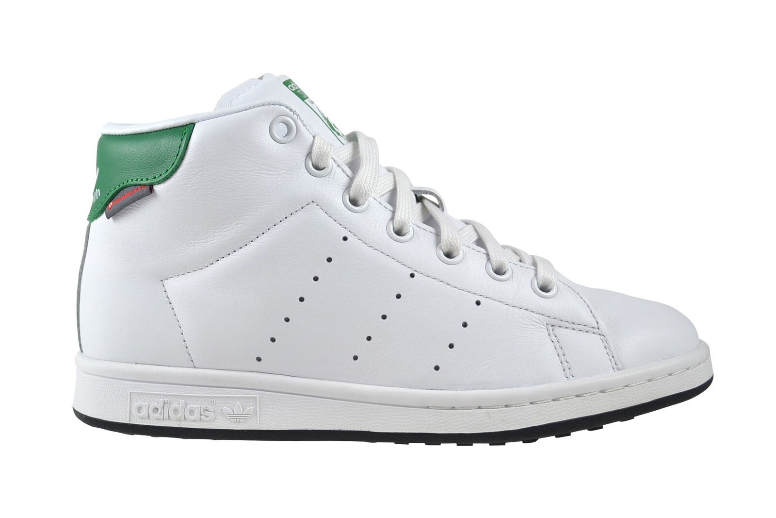 more photos 70aa2 b3fac Adidas Stan Stan Stan Smith Mid Winter White Green Sneaker Chaussures Blanc  s80498 594460