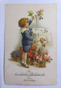 034-Geburtstag-Kinder-Vase-Blumen-Rosen-1927