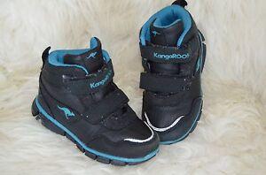 new arrivals b0a85 a8ed1 Details zu KangaRoos Jungen Boots Schuhe Gr. 23 schwarz wanderschuhe  Sneaker Winter
