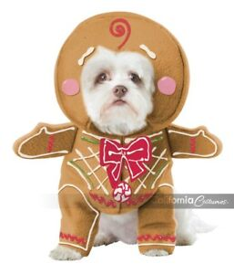 California-Costumes-Gingerbread-Pup-Dog-Holiday-Christmas-Xmas-Costume-PET20133
