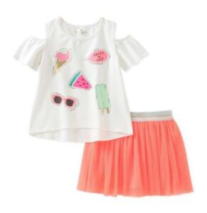 479ce4fb9 KATE SPADE NEW YORK® Little Girls' 6 Summer Treats Skirt Set NWT $64 ...