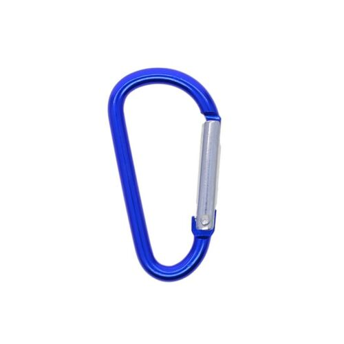 """Details about  /3/"""" Carabiner Belt Outdoor 12pcs Spring Key Chain Aluminum alloy Durable"""