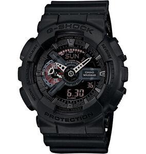 Casio-Men-039-s-G-Shock-Ana-Digital-X-Large-Military-Black-GA110MB-1A