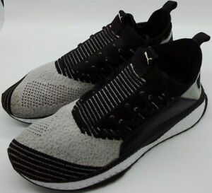 puma ignite black and grey men's casual athletic black